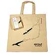 Light Weight Certified Organic Cotton Economy Tote Bag By Green Petal Ventures