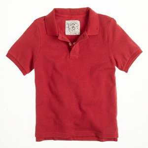 Golf t-shirt made from certified natural organic cotton pique knit fabric.