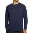 Organic cotton and bamboo full sleeve men's t-shirt.